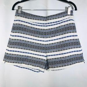 Gap Striped Casual 3 Inch Shorts